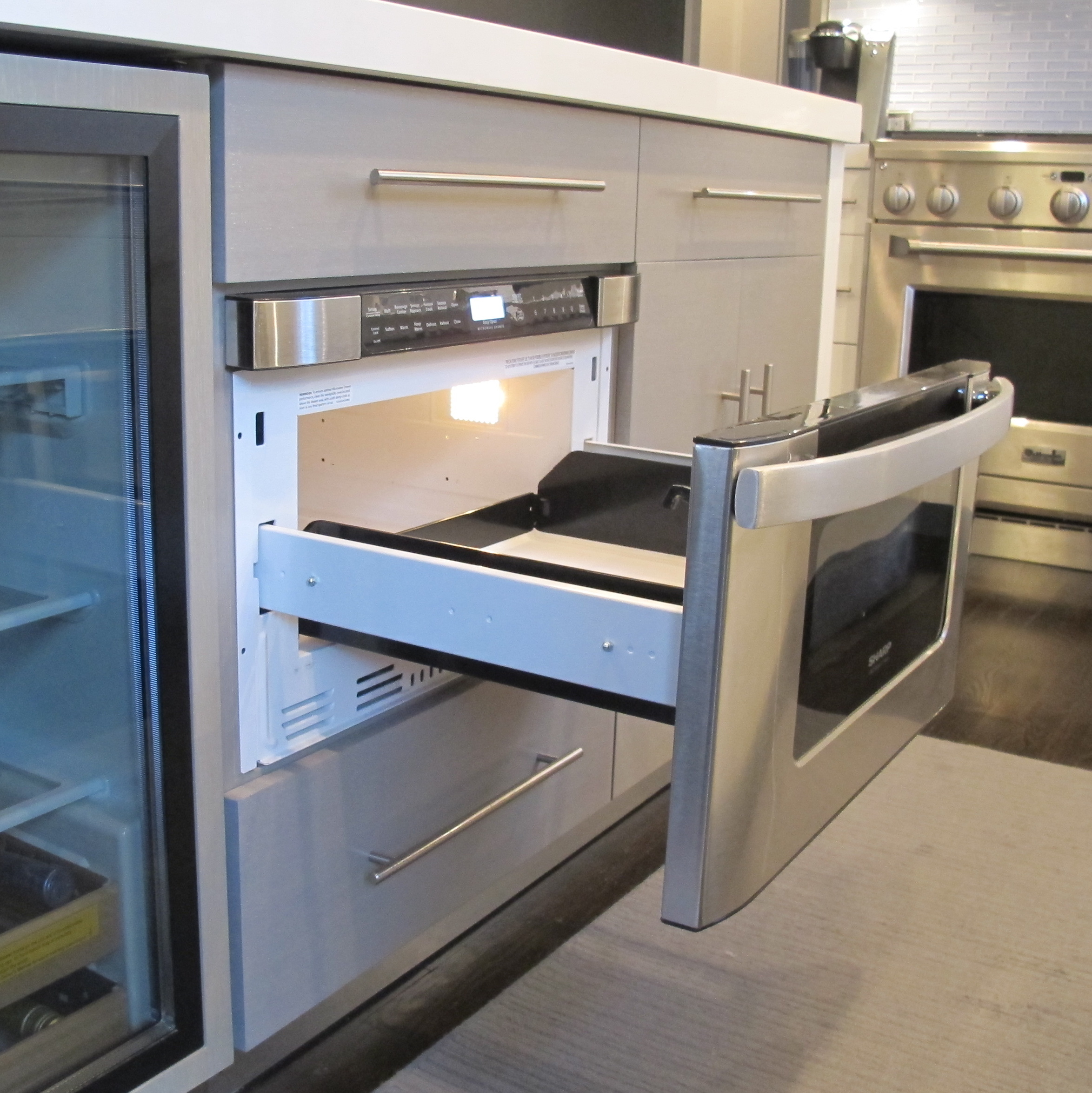 kitchen - Sharp Drawer Microwave